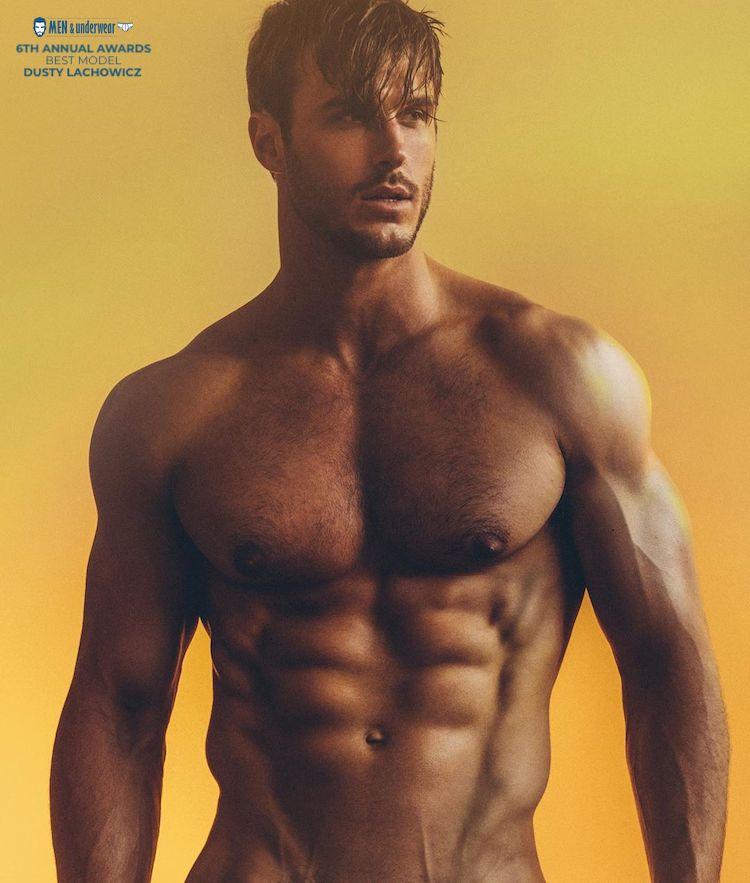 6th annual men and underwear awards - Best model - Dusty Lachowicz