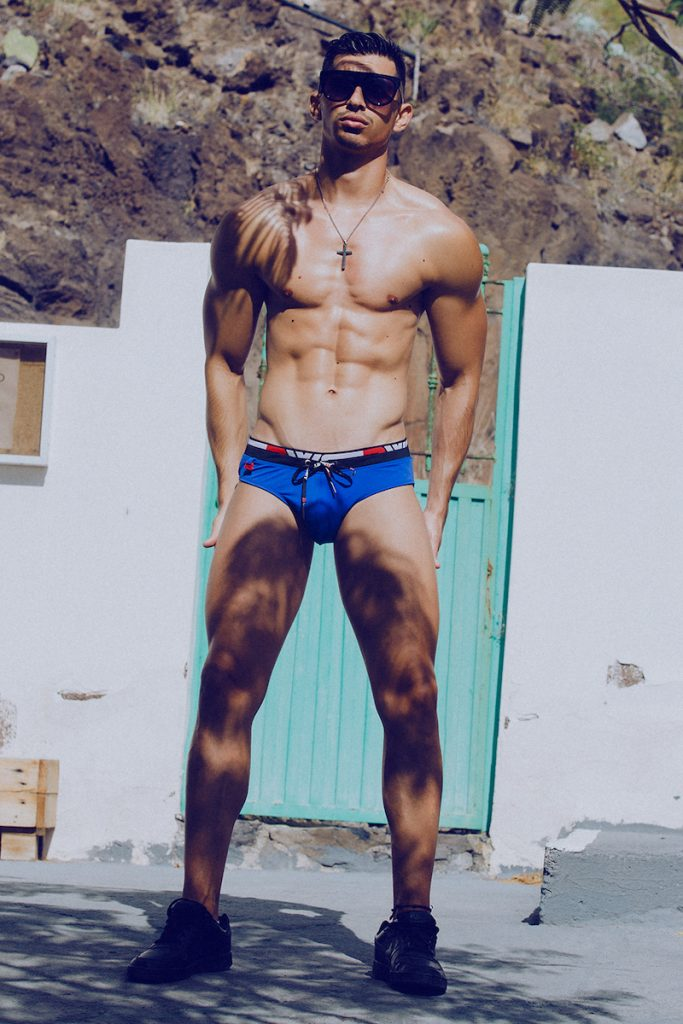 BWET swimwear - Model Mikel by Adrian C. Martin 01