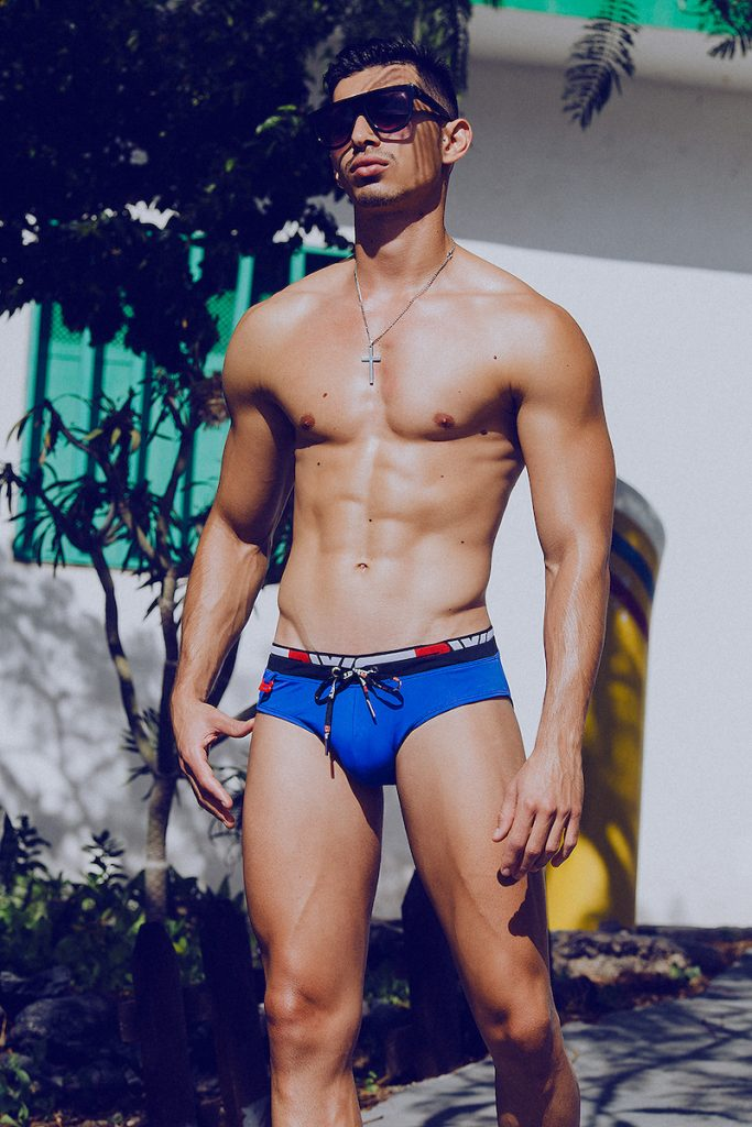 BWET swimwear - Model Mikel by Adrian C. Martin