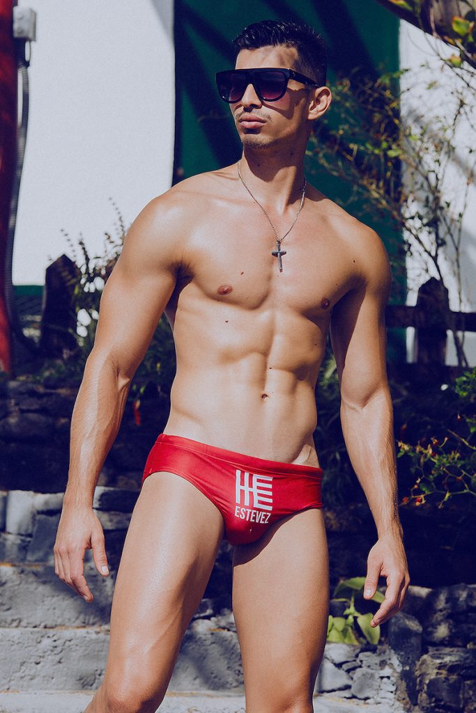 ESTEVEZ swimwear - Model Mikel by Adrian C. Martin
