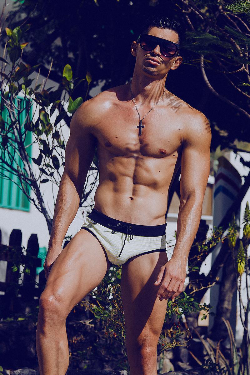 LODOLI swimwear - Model Mikel by Adrian C. Martin