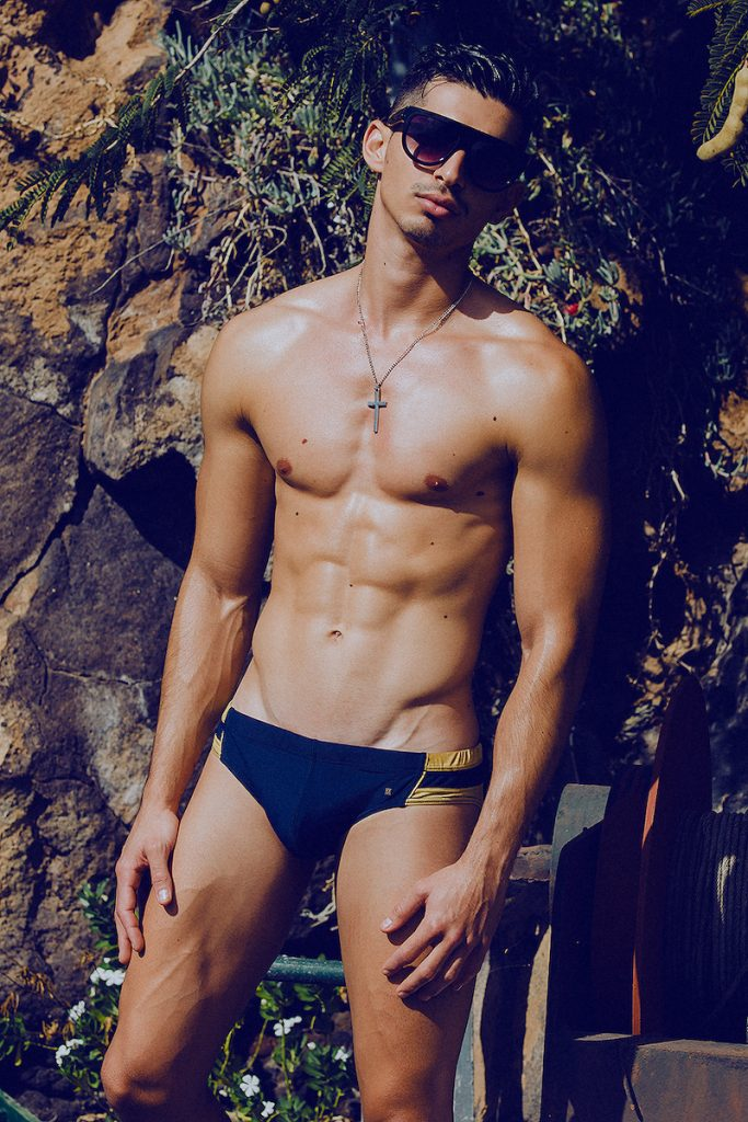 MARCUSE swimwear - Model Mikel by Adrian C. Martin
