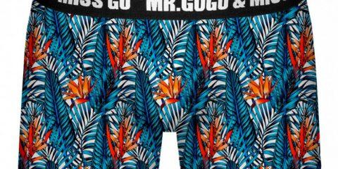 Mr. Gugu & Miss Go underwear Tropical Paradise Boxer Brief