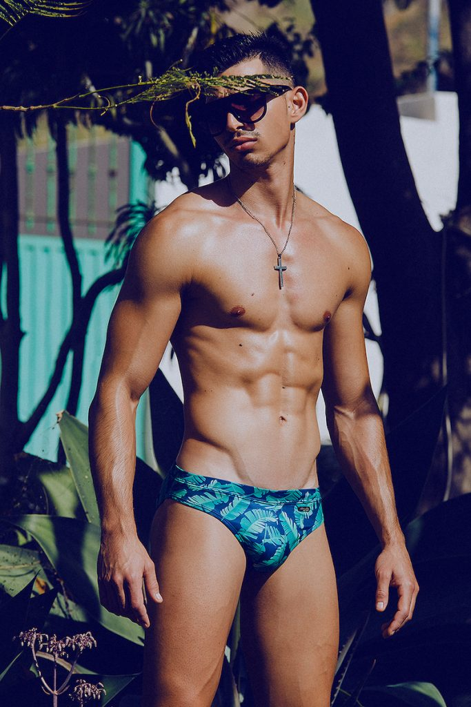 OCEANICO swimwear - Model Mikel by Adrian C. Martin