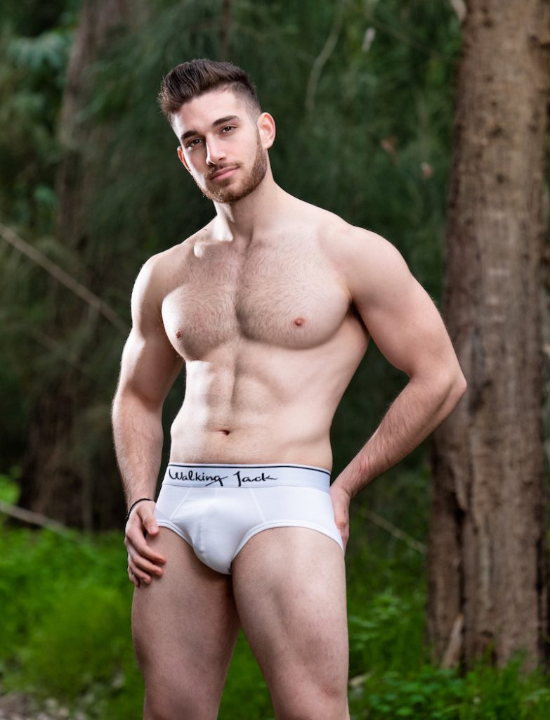 Walking Jack underwear Solid Briefs white