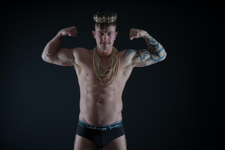 Walking Jack underwear - Model Oliver by Markus Brehm - Solid Briefs
