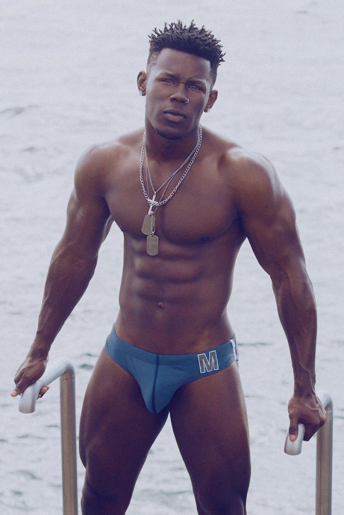Marcuse swimwear Model Eduardo by Adrian C. Martin