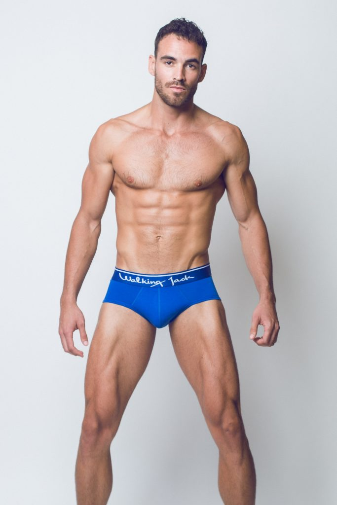 Walking Jack - underwear - BLUEBIRD Solid Briefs