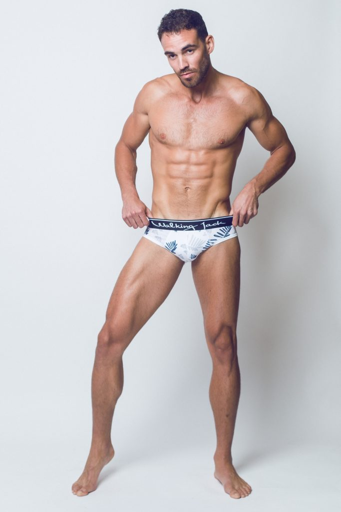 Walking Jack - underwear - FERN Print Briefs