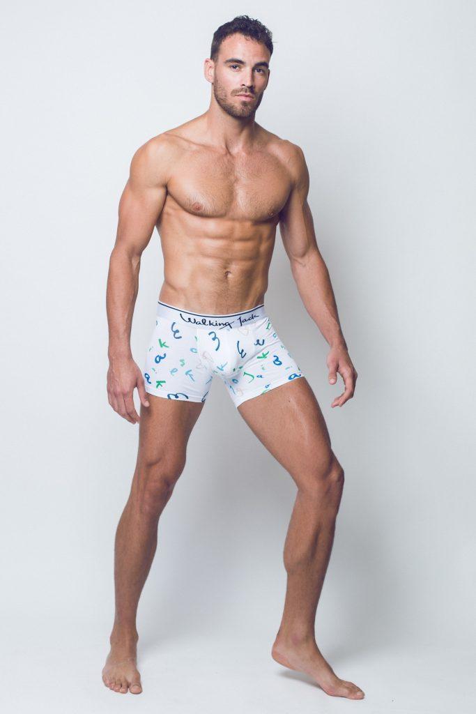 Walking Jack - underwear - LETTERS Print Trunks