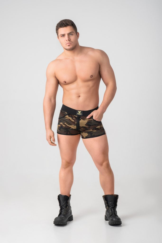 Maskulo Shorts Enforce Collection