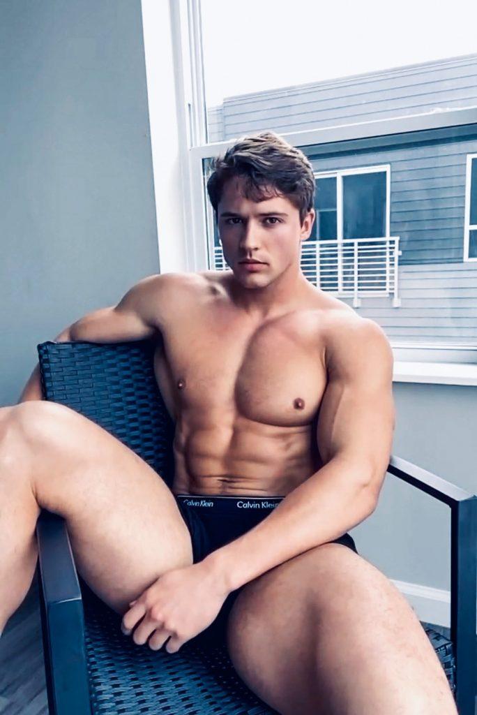 Nick Toper - Calvin Klein underwear