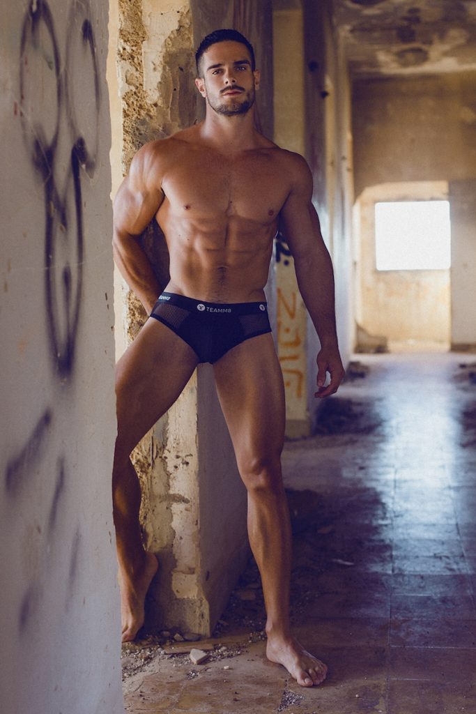 teamm8 underwear - Model Jorge photographed by Adrian C. Martin