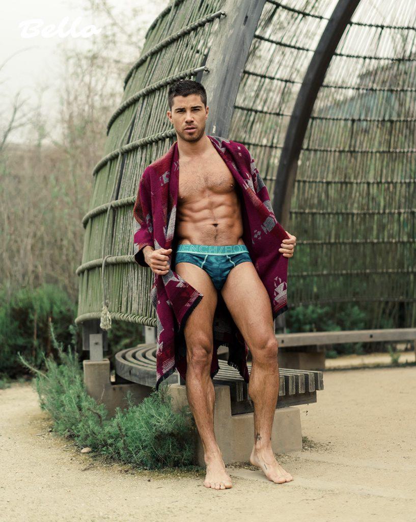 underwear by Bench Body Model Cheyenne Parker