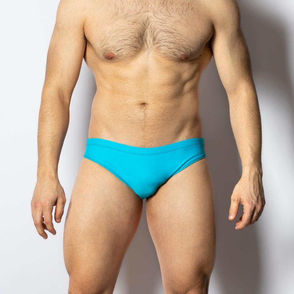 Barcode Berlin swimwear - Sacha SwimBriefs - Blue with black