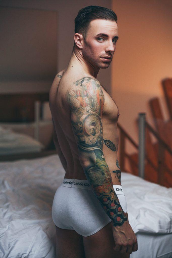 Calvin Klein underwear - Model Nathaniel by Fallstaff