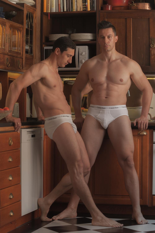 Calvin Klein underwear - Models Roman and Ilya by Yani Hartonen