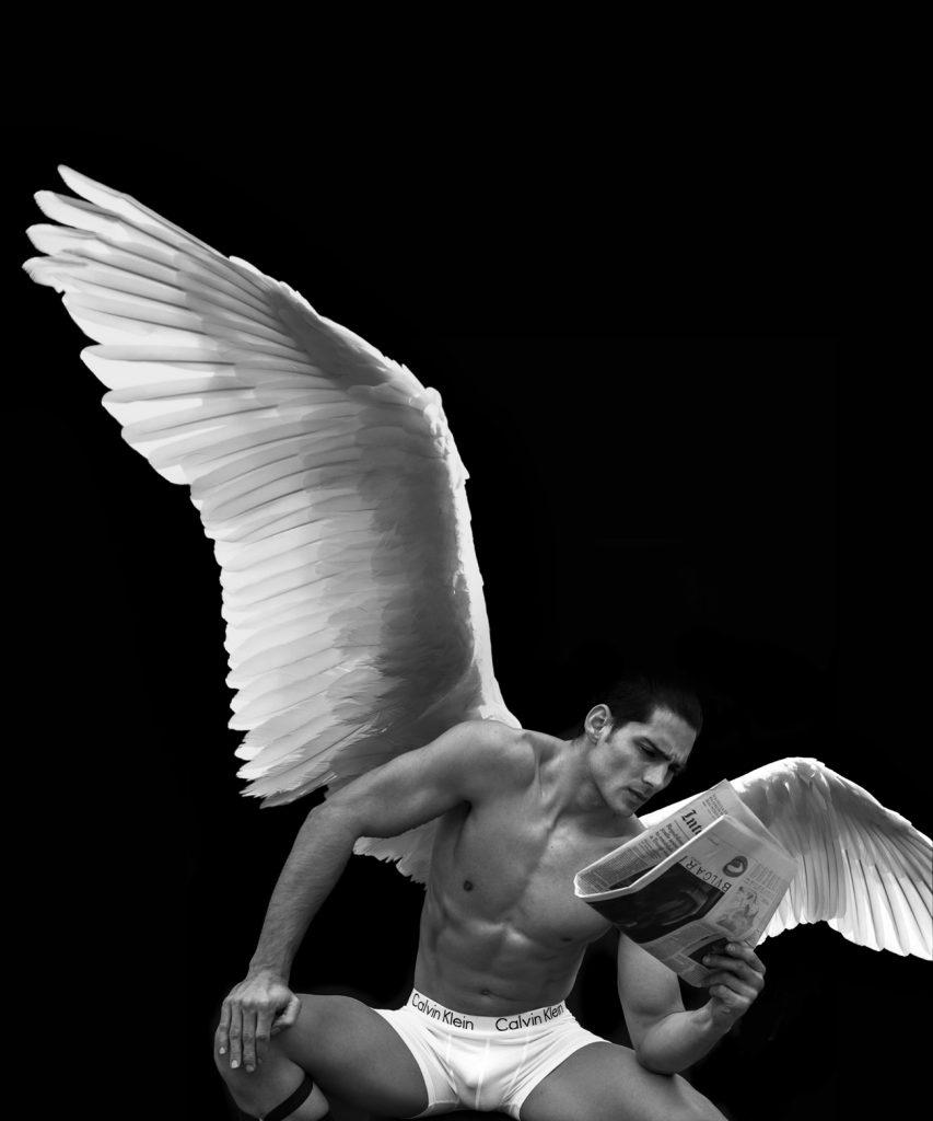 Calvin Klein underwear model Taner Sigirtmac by Baldovino Barani