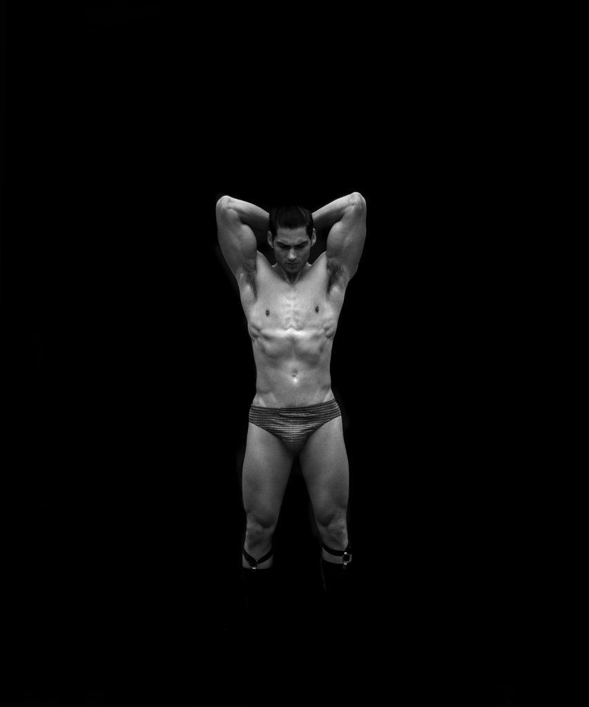 Intimissimi underwear model Taner Sigirtmac by Baldovino Barani