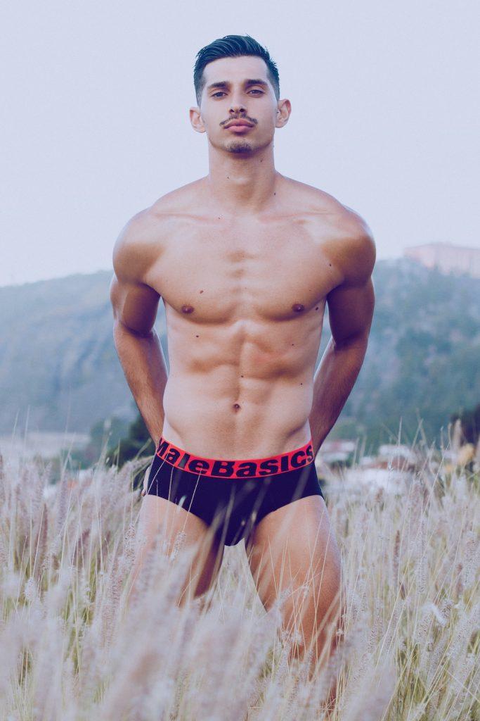 MaleBasics underwear Maikel Roman by Adrian C Martin
