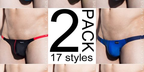 Mategear - 2 Pack Assorted Signature Swimwear