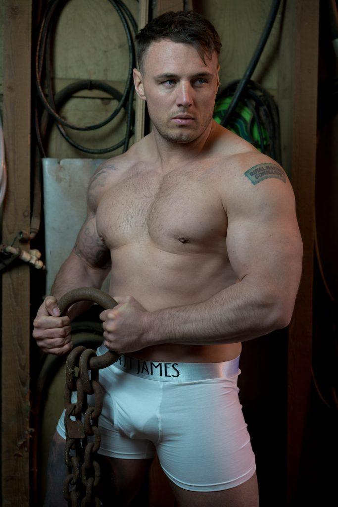 Matt James underwear Model Perrie by Markus Brehm