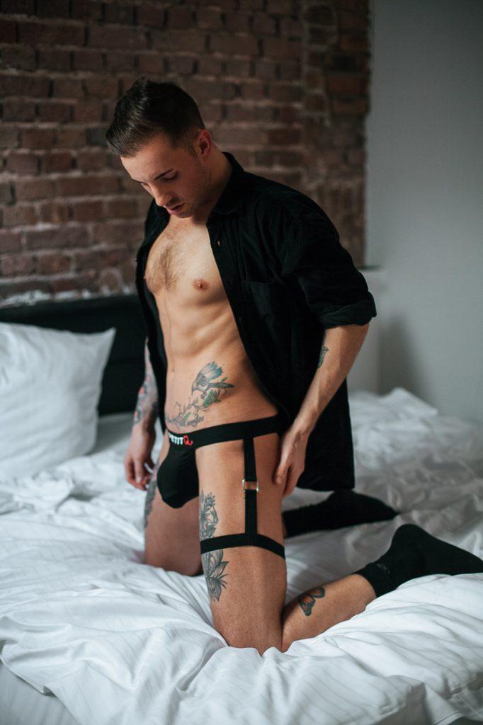 Petit-Q underwear - Model Nathaniel by Fallstaff