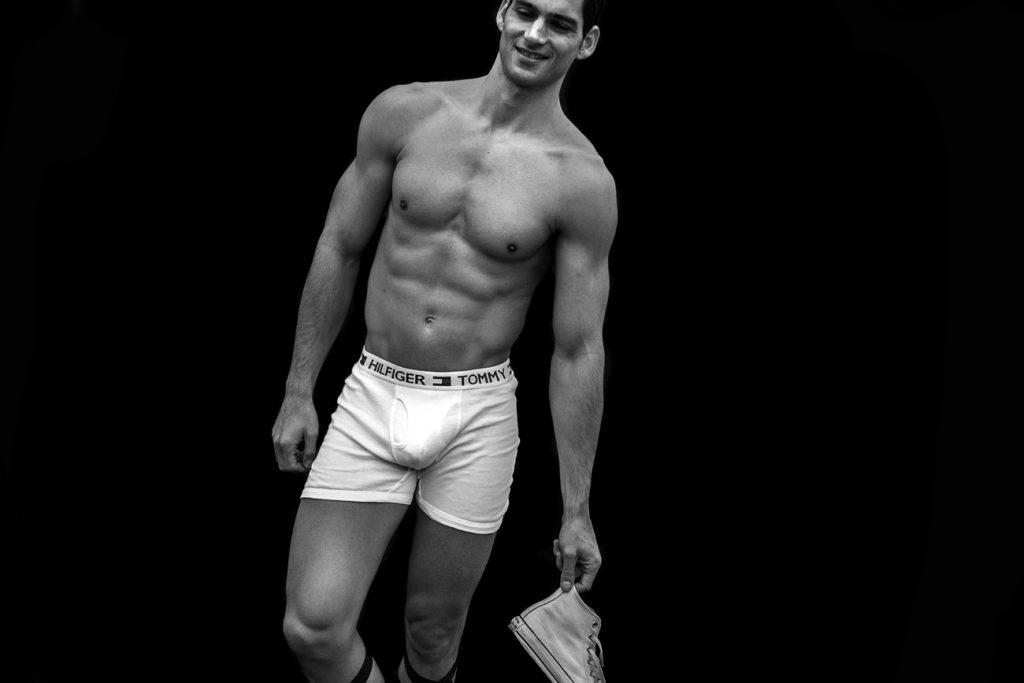 Tommy Hilfiger underwear model Taner Sigirtmac