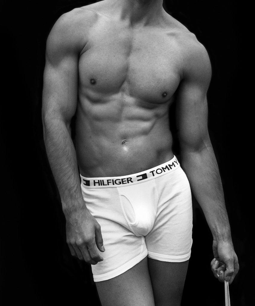 Tommy Hilfiger underwear model Taner Sigirtmac by Baldovino Barani