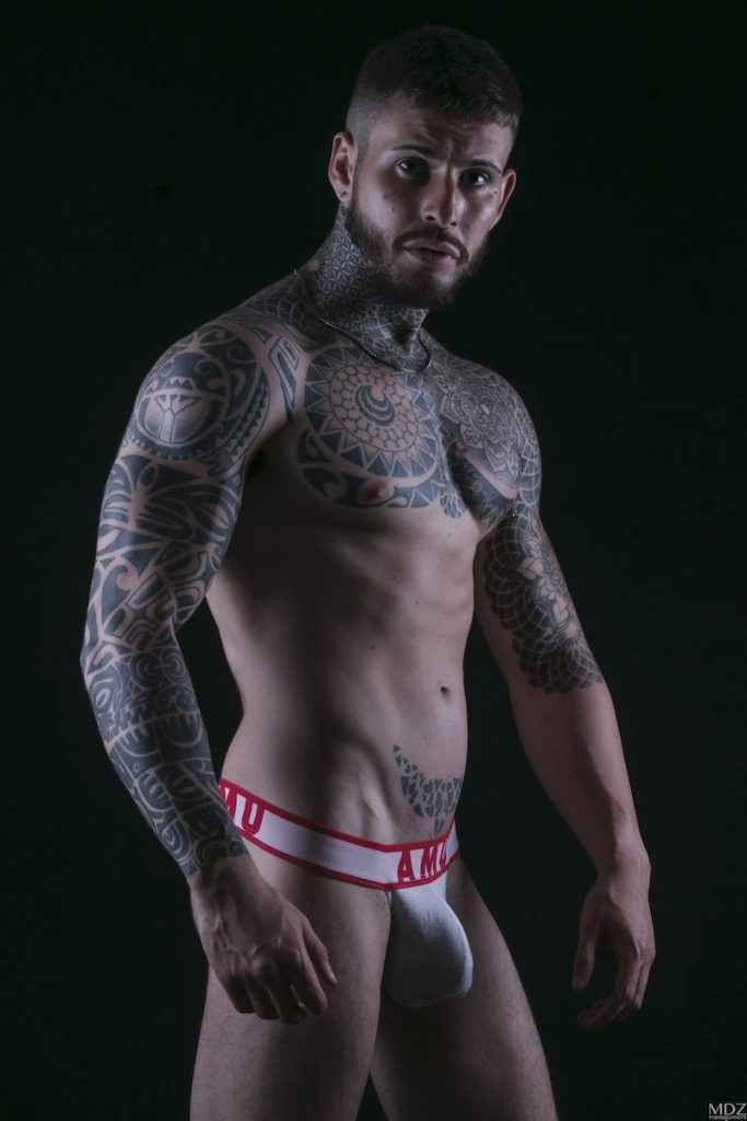 AMU underwear - Model Aaron by MDZmanagement