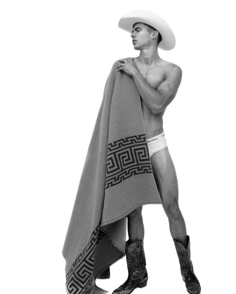 Calvin Klein underwear - Model Scott Morton by Baldovino Barani - FACTORY Fanzine