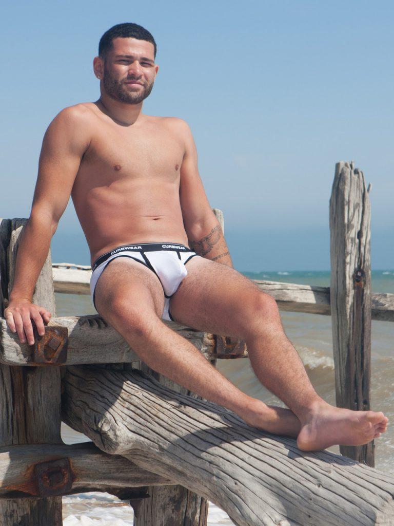 Curbwear underwear model Max
