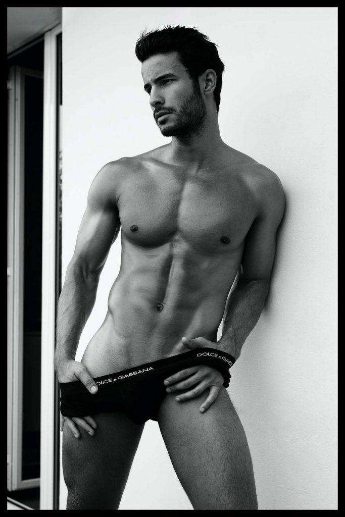 Dolce & Gabbana underwear - Renato Freitas by Wong Sim - Brazilian Male Model Magazine