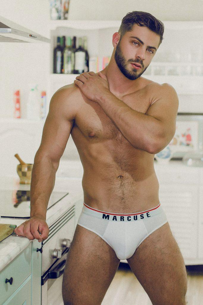 Marcuse underwear - model Kevin by Adrian c Martin