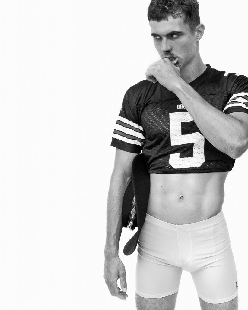 Rufskin underwear - Model Scott Morton by Baldovino Barani - FACTORY Fanzine