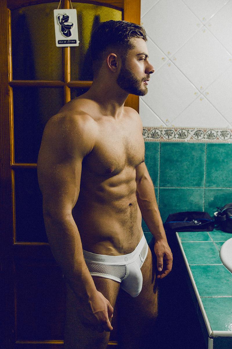 Teamm8 underwear - model Kevin by Adrian c Martin