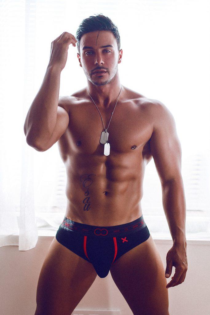 2eros underwear - Model Esau by Adrian C Martin