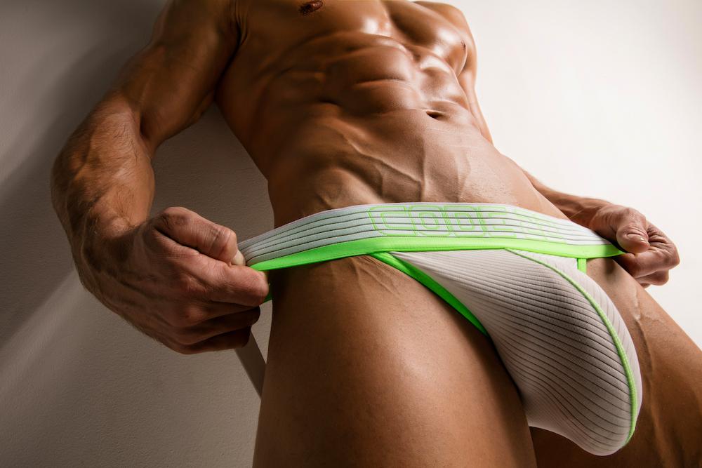 CODE 22 underwear - Neo Gym Jock - Juan Hortoneda by Joan Crisol