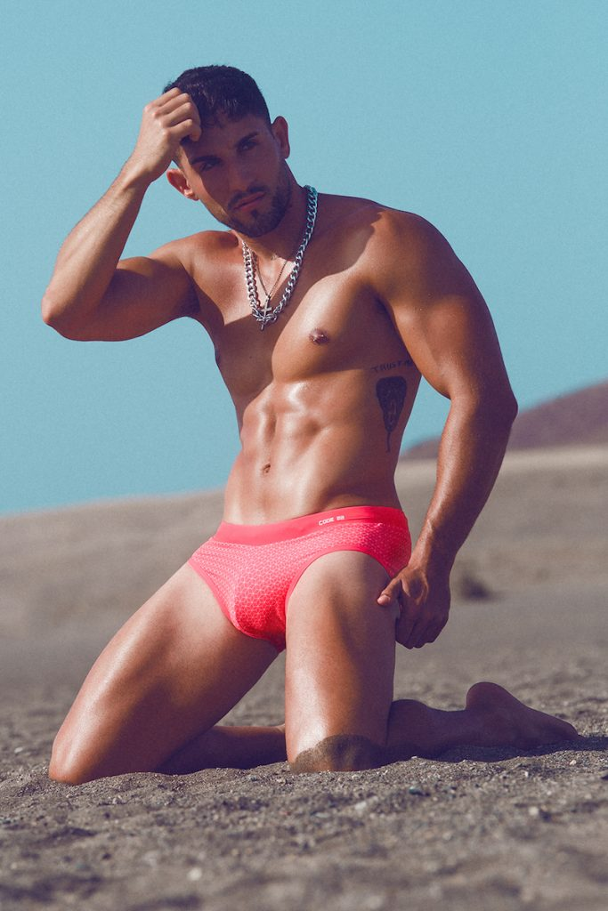CODE 22 underwear and swimwear - Model Gonzalo by Adrian C. Martin