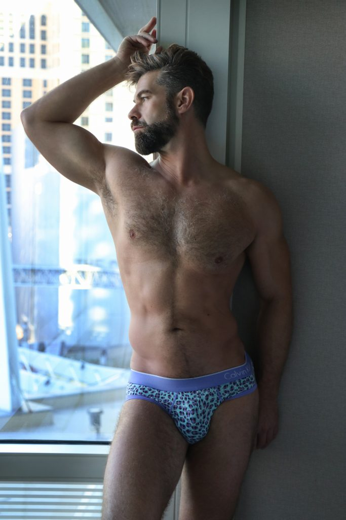 Calvin Klein underwear - model Sean by German Armenta