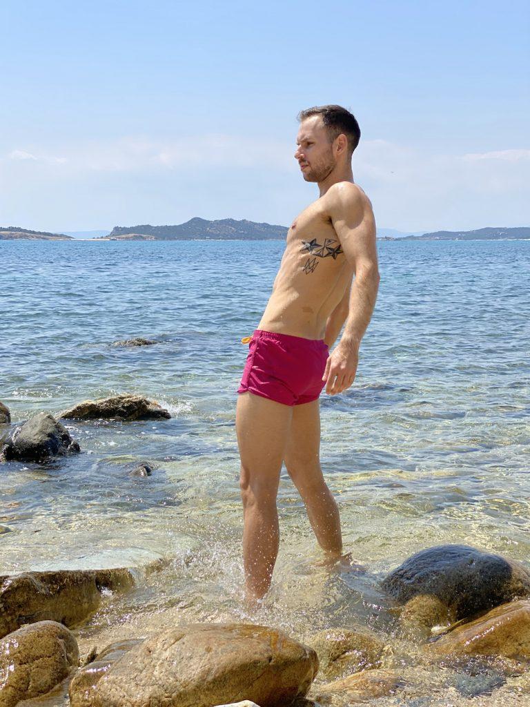 Garcon swimwear - Model Stathis for Men and Underwear