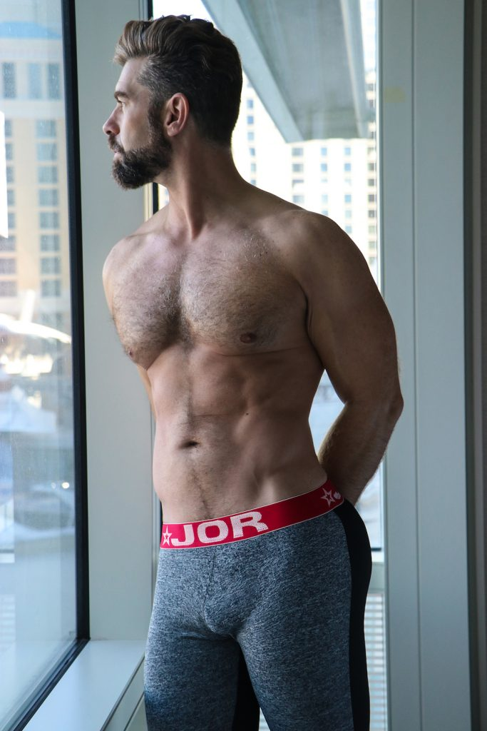 Jor underwear - model Sean by German Armenta