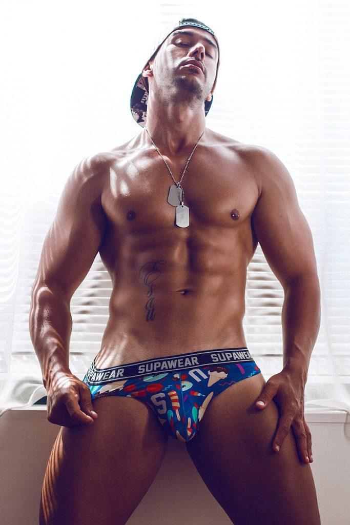 Supawear underwear - Model Esau by Adrian C Martin