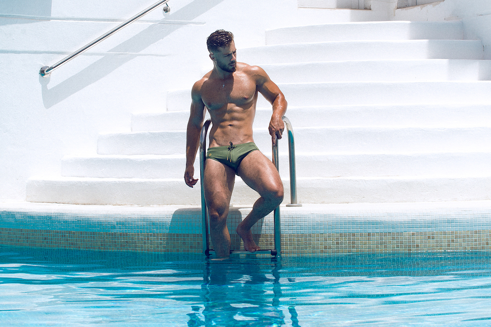 teamm8 swimwear - Model Kevin De La Cruz by Adrian C Martin