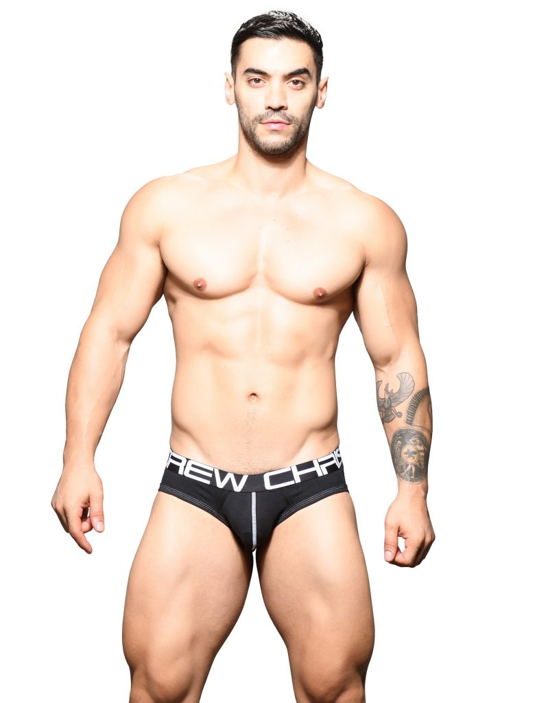 Andrew Christian enhancing briefs Show It
