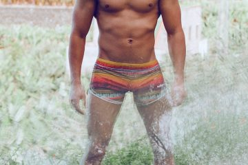 Bang Shorts - Model Oliver by Adrian C Martin