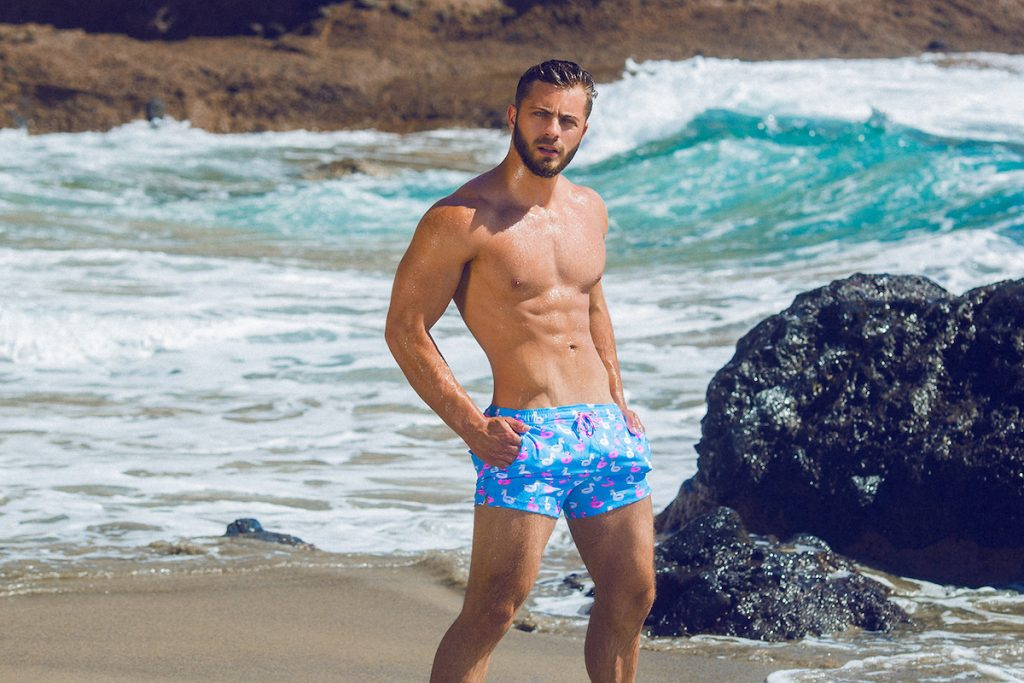 Elia Beachwear - Models Kevin and Andres by Adrian C. Martin