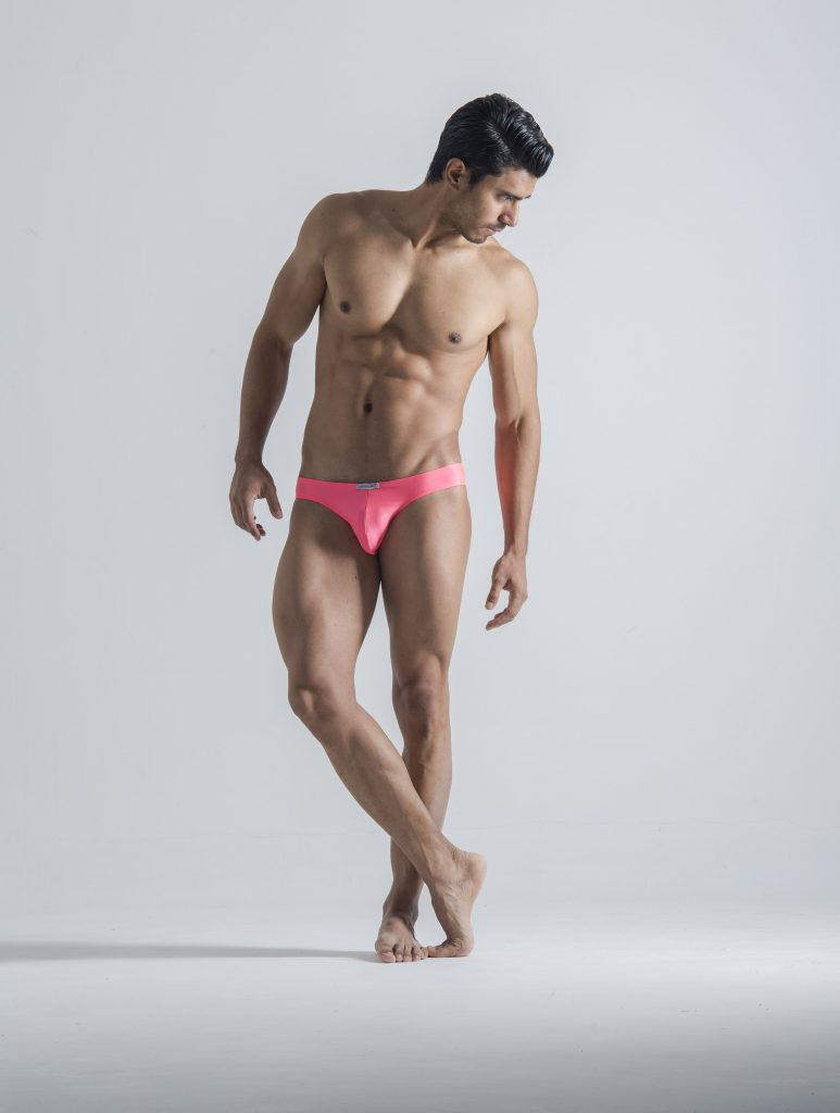 Joe Snyder Underwear - Mens Bikini Pink