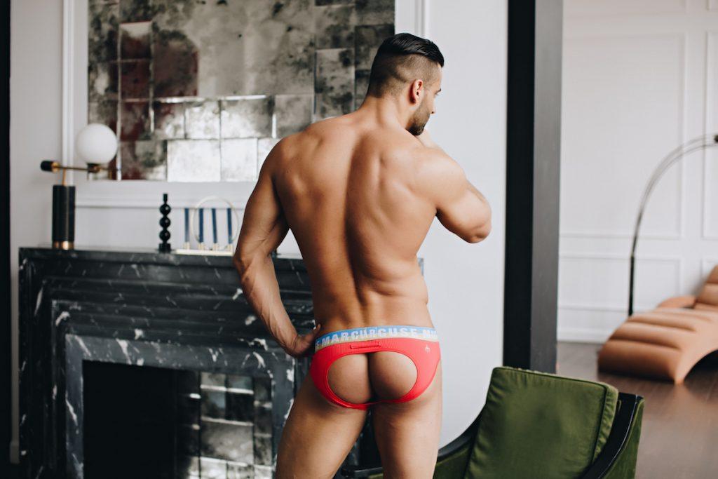 Marcuse underwear - Empire Jock Red