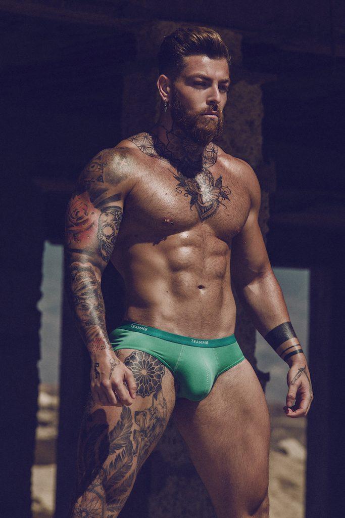 teamm8 underwear - Model Kevin Carlos by Adrian C. Martin
